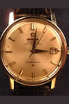 omega constellation manual stainless steel watch