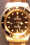 rolex tudor 9ct gold watch