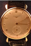 18ct gold longines watch