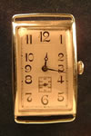 large rectangular  wristwatch