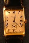18ct gold west end longines watch