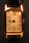 9ct gold rotary watch