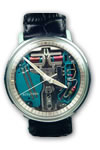 Bulova accutron stainless steel watch