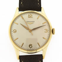 lonines gold watch