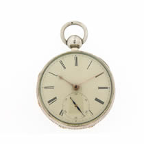 massey lever silver pocket watch