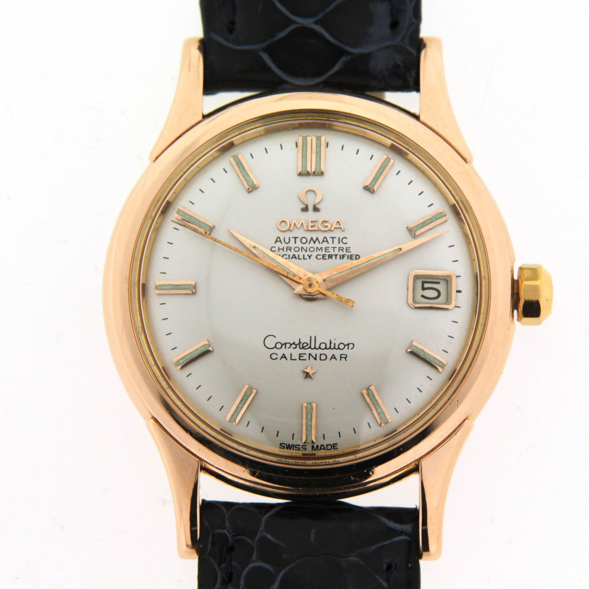 pin clock watch omega - photo #9
