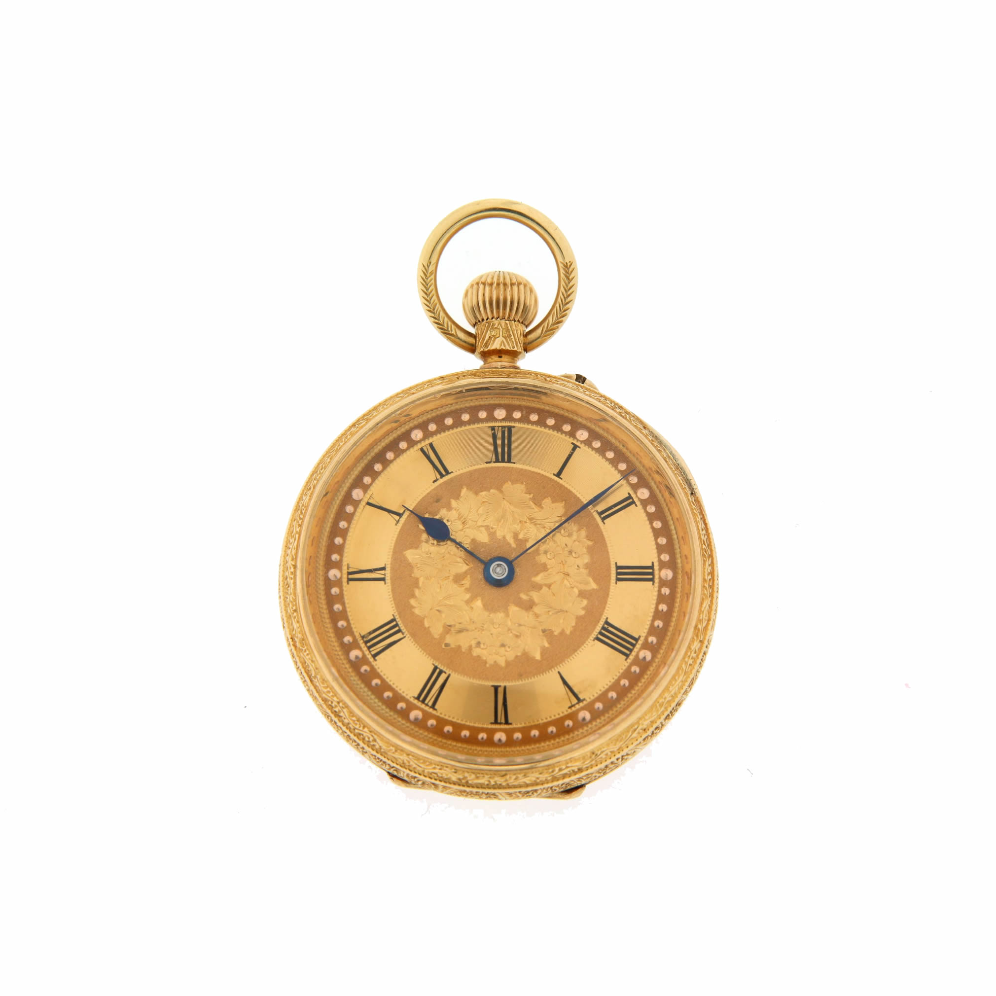 18ct gold fob 151207
